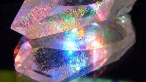 Quartz Gemstones in Nature